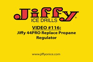 Replace Propane Regulator on Jiffy 44PRO Propane Ice Drill