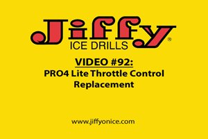 Video 92_PRO4 Lite Replace Throttle Control