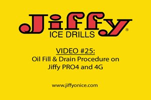 Video 25_PRO4 and 4G Oil Fill and Drain Procedure