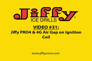 Video 31_PRO4 and 4G Set Gap on Ignition Coil