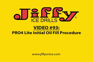 Video 93_44PRO and PRO4 Lite Initial Oil Fill Procedure