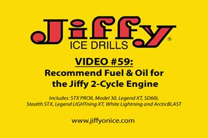 Video 59_2-Cycle Recommended Fuel and Oil