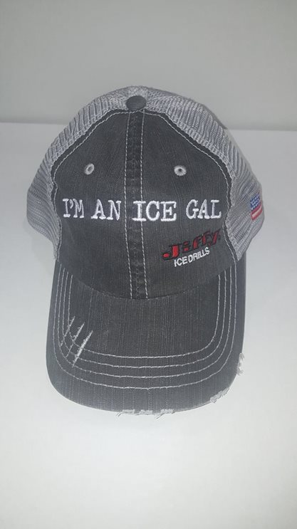 Ice Gal Black Cap (4631-B)