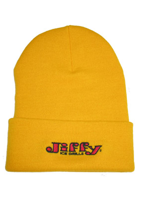 Retro Yellow Knit Hat (4020-YE)